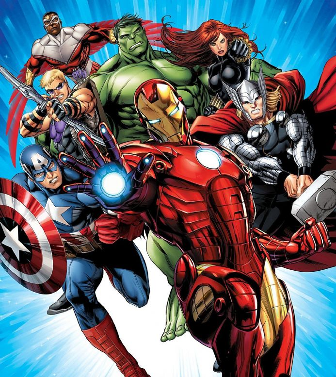 Marvel paper wallpapers for children's rooms  | Buy it now